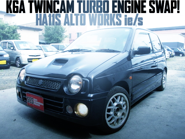 K6A TURBO SWAP HA11S ALTO WORKS