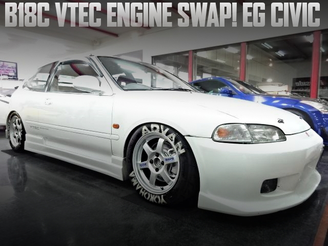 B18C VTEC ENGINE EG CIVIC