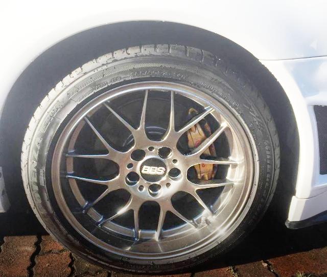 BBS WHEEL R34 GT-R