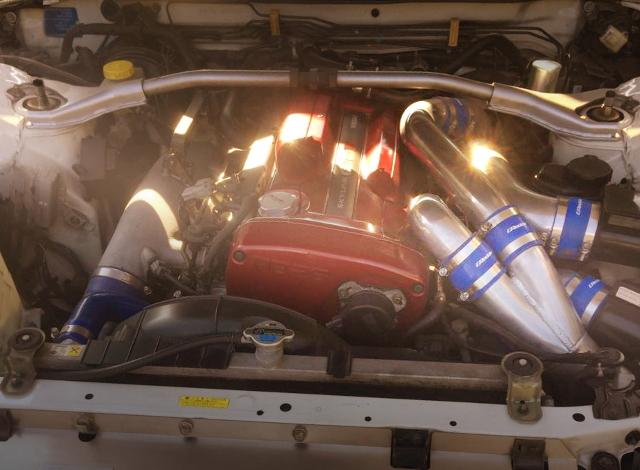 RB26 TWINTURBO ENGINE ROOM R34GTR