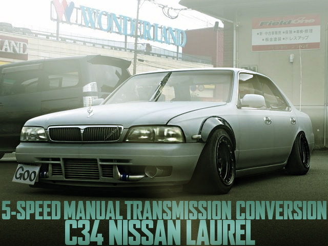 5-SPEED MANUAL C34 LAUREL