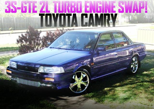 3S-GTE SWAP V20 CAMRY