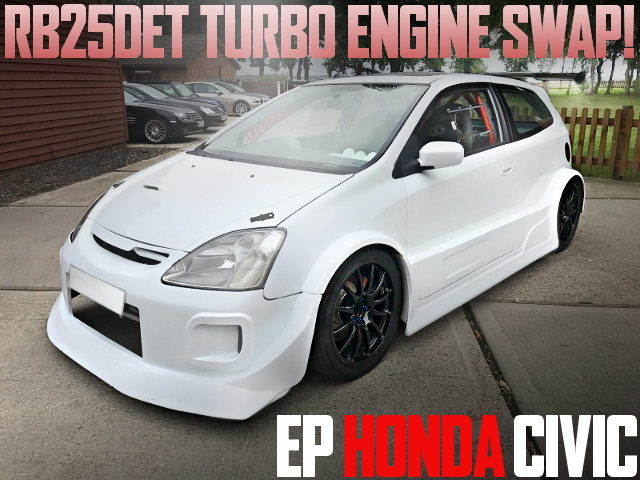 RB25 TURBO SWAP EP CIVIC