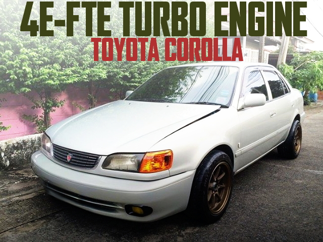 4E-FTE TURBO SWAP E110 COROLLA