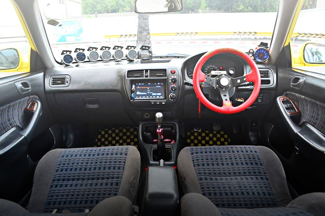 INTERIOR STEERING MANUAL SHIFT