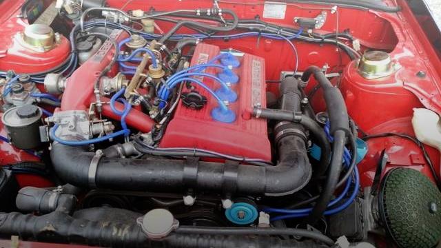 FJ20ET TURBO ENGINE
