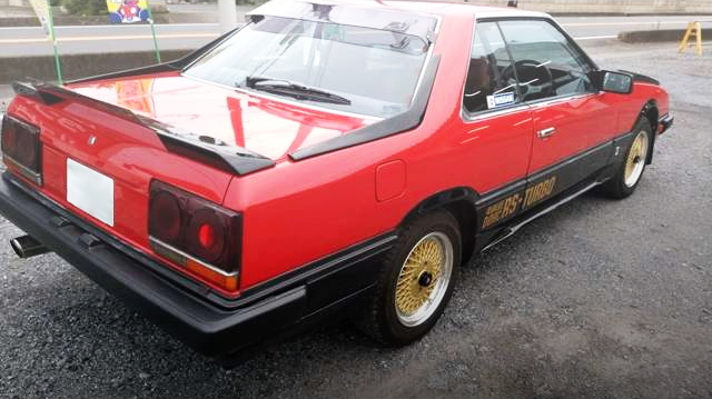 REAR SIDE EXTERIOR DR30 SKYLINE RS-TURBO