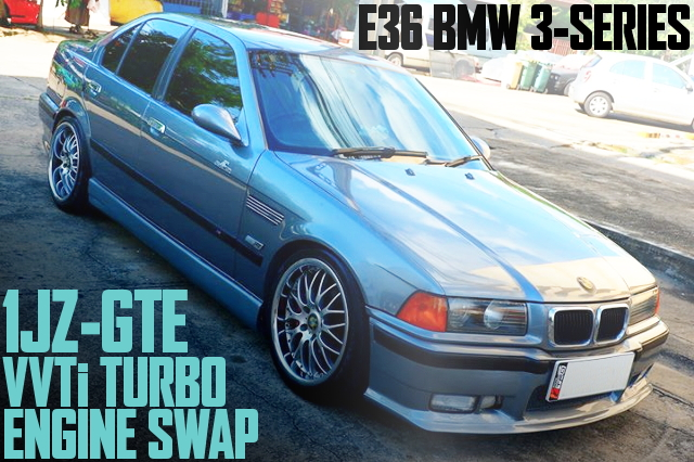 1JZ SWAP E36 BMW 3-SERIES