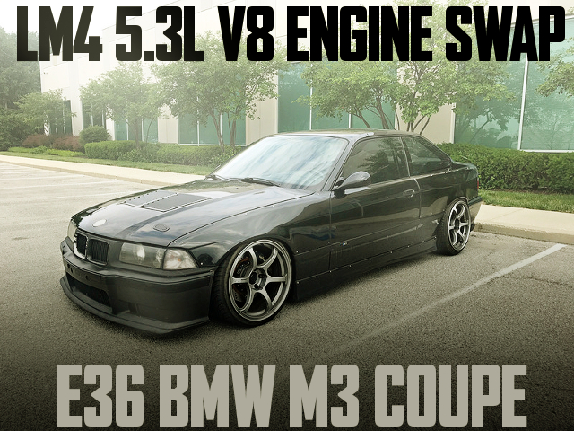 LM4 5300cc V8 ENGINE E36 BMW M3