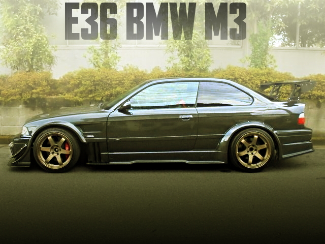 E36 BMW M3 WIDE BODY