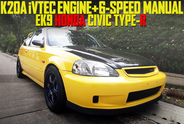 K20A SWAP 6MT EK9 CIVIC TYPE-R