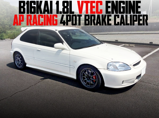 B16KAI 1800cc VTEC EK9 CIVIC TYPE-R