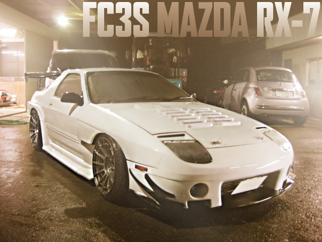RE-AMEMIYA R-MAGIC WIDEBODY FC3S RX-7