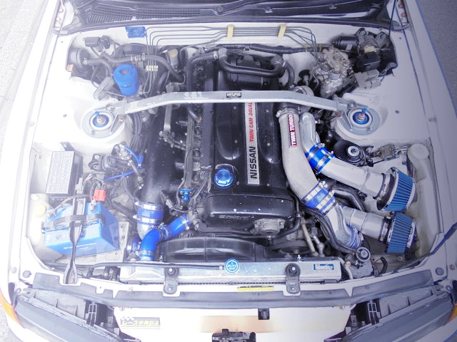 RB26 GT3-RS TWINTURBO ENGINE