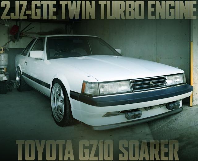 2JZ-GTE TWIN TURBO GZ10 SOARER