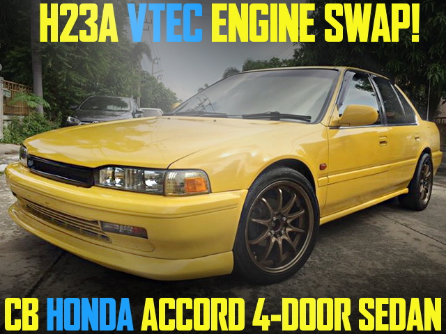 H23A VTEC SWAP CB ACCORD SEDAN