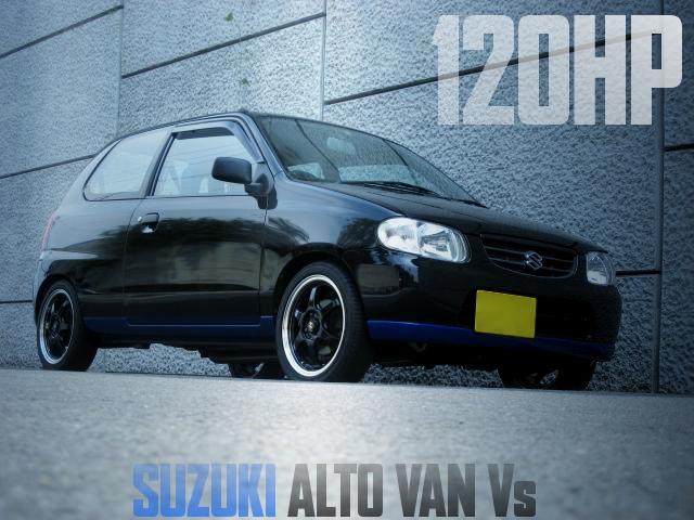 120HP HA23V ALTO VAN