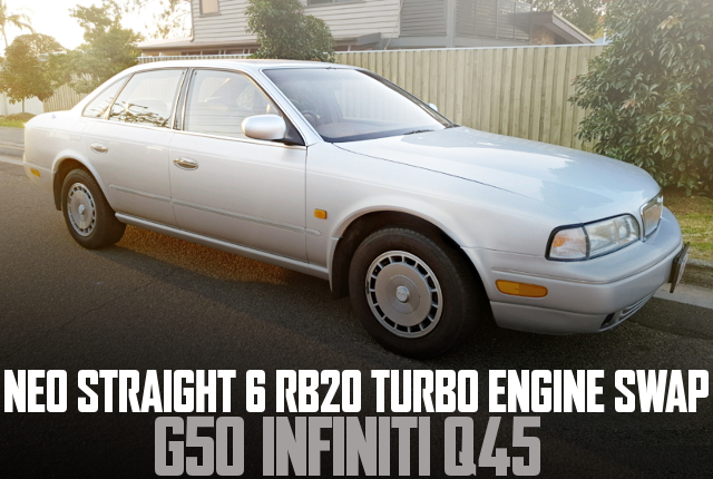 NEO STRAIGHT 6 RB20 TURBO INFINITI Q45