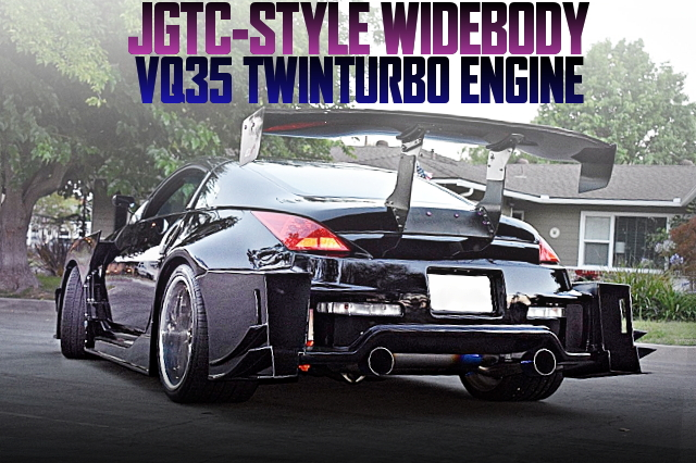 JGTC WIDEBODY Z33 350Z