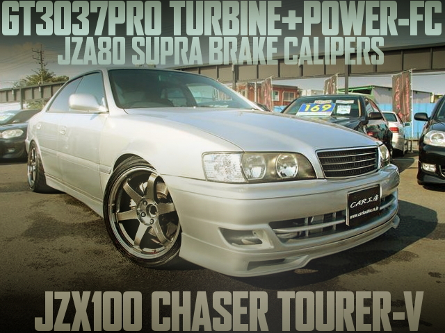 GT3037PRO TURBINE POWER-FC JZX100 CHASER TOURER-V