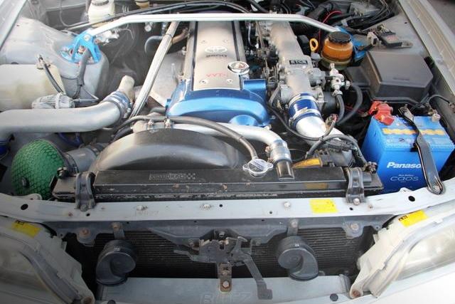 1JZ-GTE VVTi TURBO ENGINE JZX100 CHASER