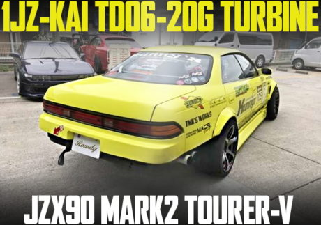 TD06 TURBO DRIFT JZX90 MARK2 TOURER-V