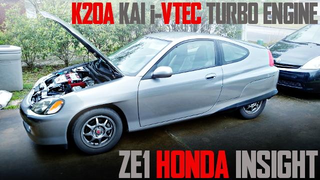 K20A i-VTEC TURBO ZE1 HONDA INSIGHT