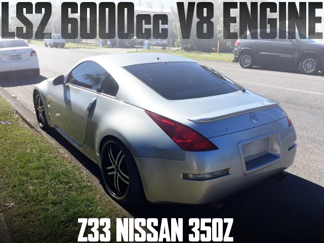LS2 6L V8 ENGINE 350Z