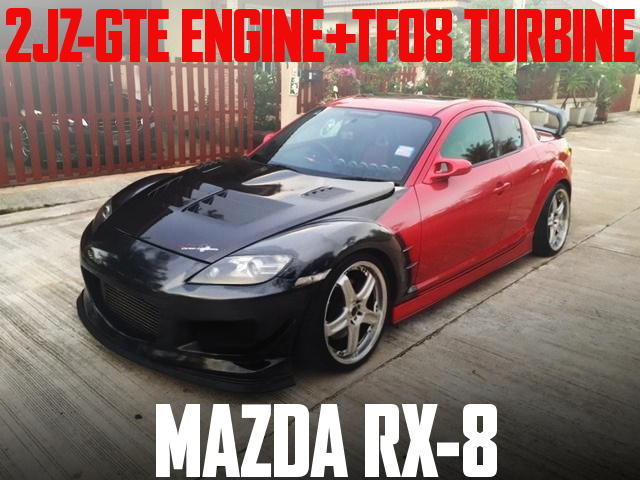 2JZ-GTE ENGINE TF08 TURBO RX-8