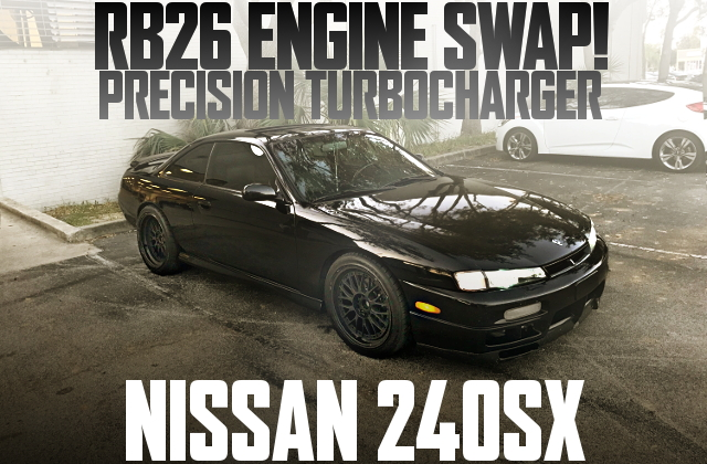 RB26 SWAP 500HP NISSAN 240SX