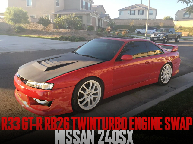 RB26 ENGINE SWAP S14 240SX