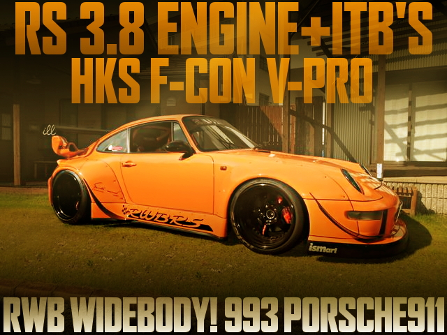 RWB WIDEBODY 993 PORSCHE 911