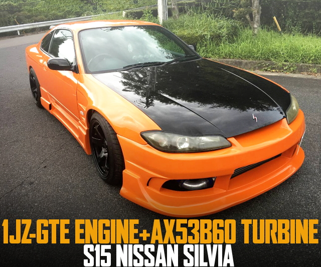 1JZ TURBO ENGINE SWAP S15 SILVIA