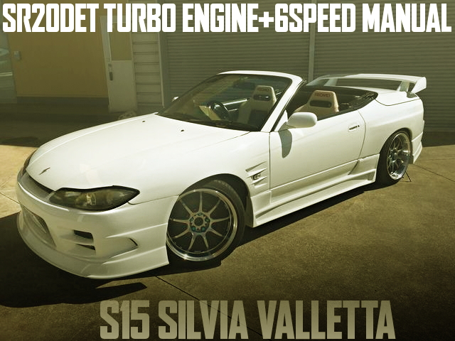 SR20 TURBO ENGINE SWAP S15 SILVIA VALLETTA