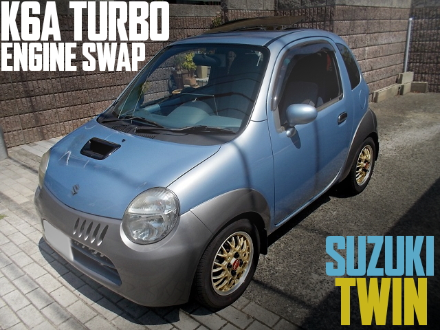 K6A TURBO ENGINE SWAP SUZUKI TWIN
