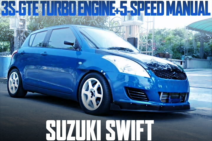 3S-GTE TURBO ENGINE SWAP SUZUKI SWIFT