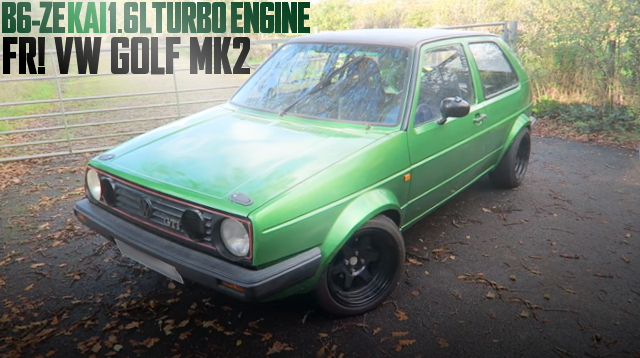 B6-ZE TURBO ENGINE VW GOLF MK2