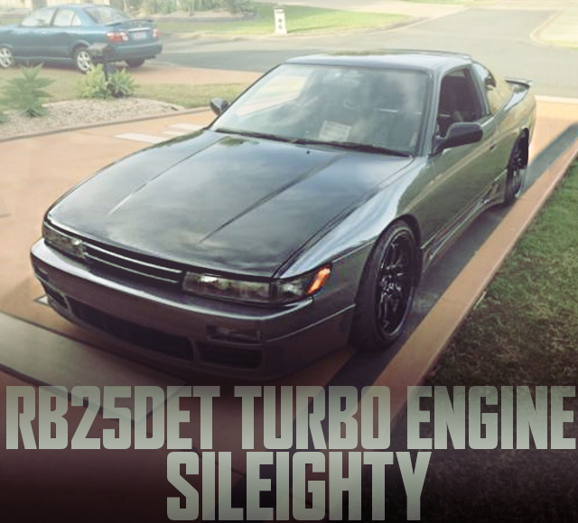 SILEIGHTY RB25DET OF 180SX