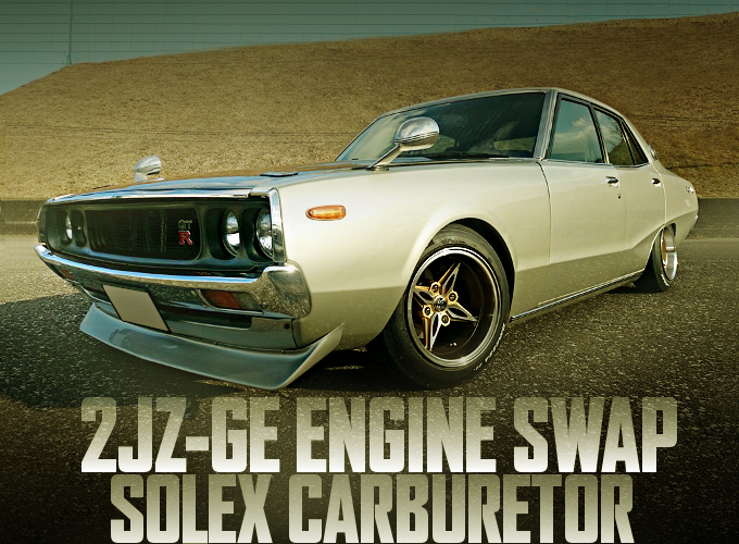 2JZ-GE SOLEX CARBURETOR C110 SKYLINE 4-DOOR YONMERI