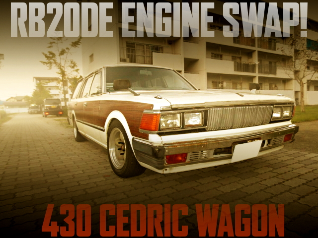 RB20DE SWAP 430 CEDRIC WAGON