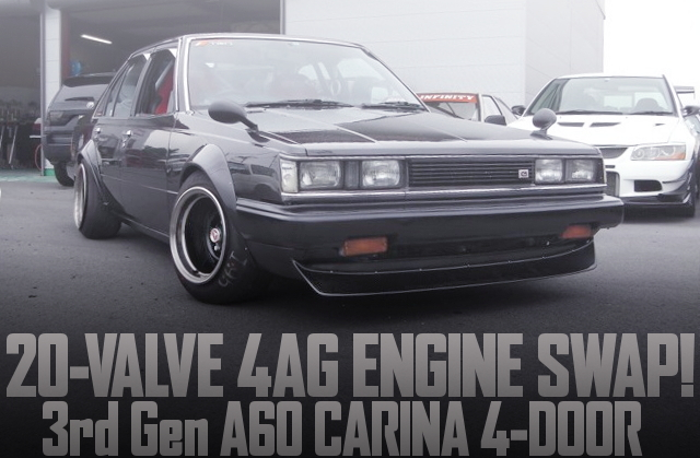 20-VALVE 4AG ENGINE SWAP 3rd Generation CARINA 4-DOOR