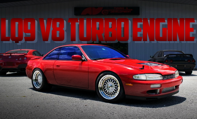 LQ9 V8 TURBO ENGINE S14 NISSAN 240SX