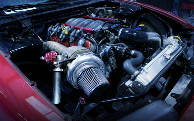 VQ9 V8 TURBO ENGINE FOR 240SX