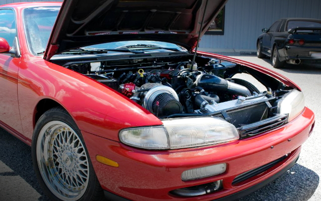 V8 ENGINE ROOM OF S14 240SX
