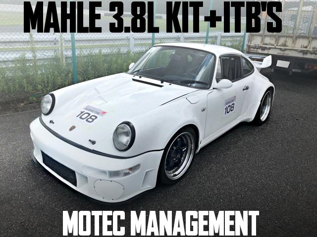 MOTEC 3.8L ITB TYPE-964 PORSCHE 911 CARRERA2