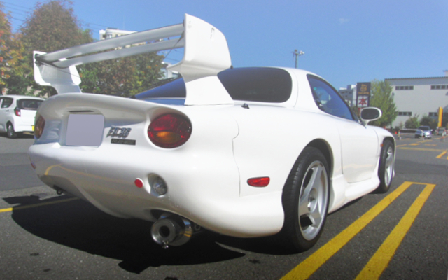 REAR EXTERIOR FD3S RX-7 AC037 BODY