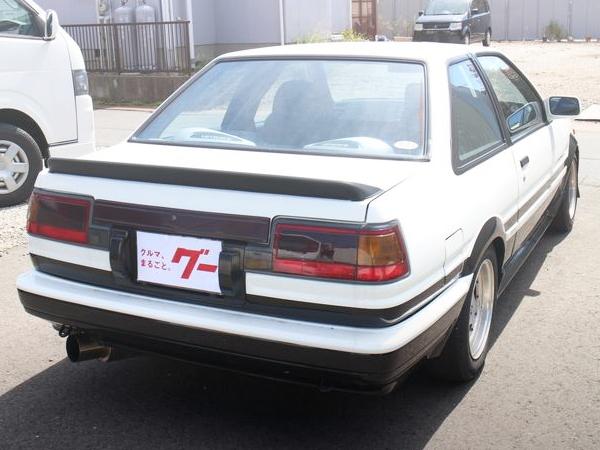 REAR EXTERIOR AE86 SPRINTER TRUENO