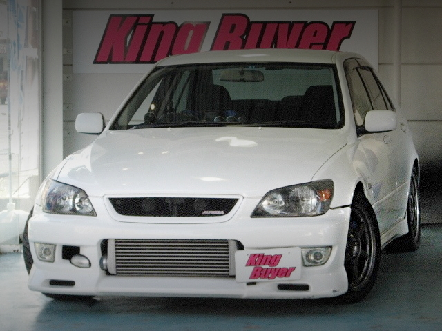 FRONT EXTERIOR ALTEZZA RS200 TURBOCHARGED