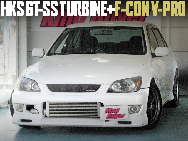 HKS GT-SS TURBO AND V-PRO FOR ALTEZZA RS200