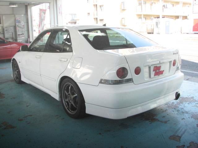 REAR EXTERIOR ALTEZZA RS200 TURBO